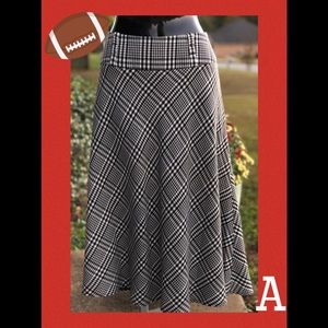 NYCC Houndstooth Circle Skirt - Size 10